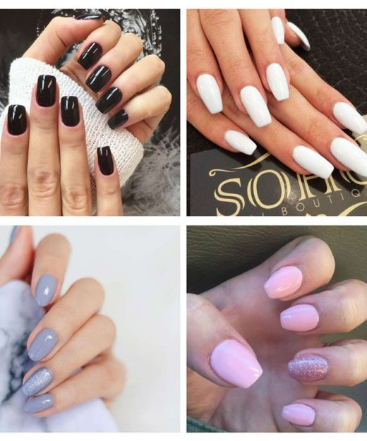Nude Color Long-Lasting Gel Nail Polish (24 Colors) – Korean Fashion ...