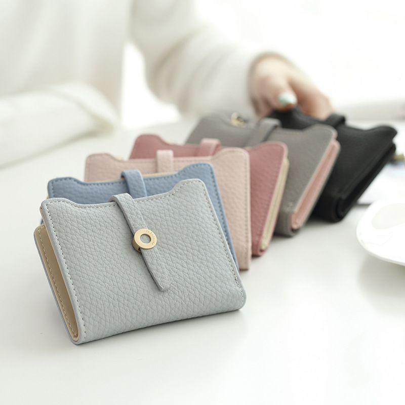 b03276f26 Buttoned Casual Small Wallet (6 Colors) – Korean Fashion for you!